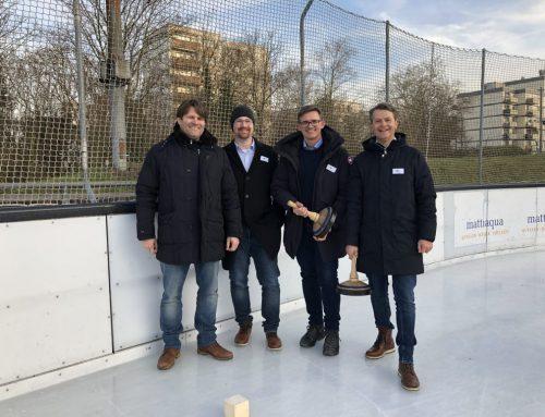 3.Platz beim 2. Sponsoren-Cup im Eisstockschießen