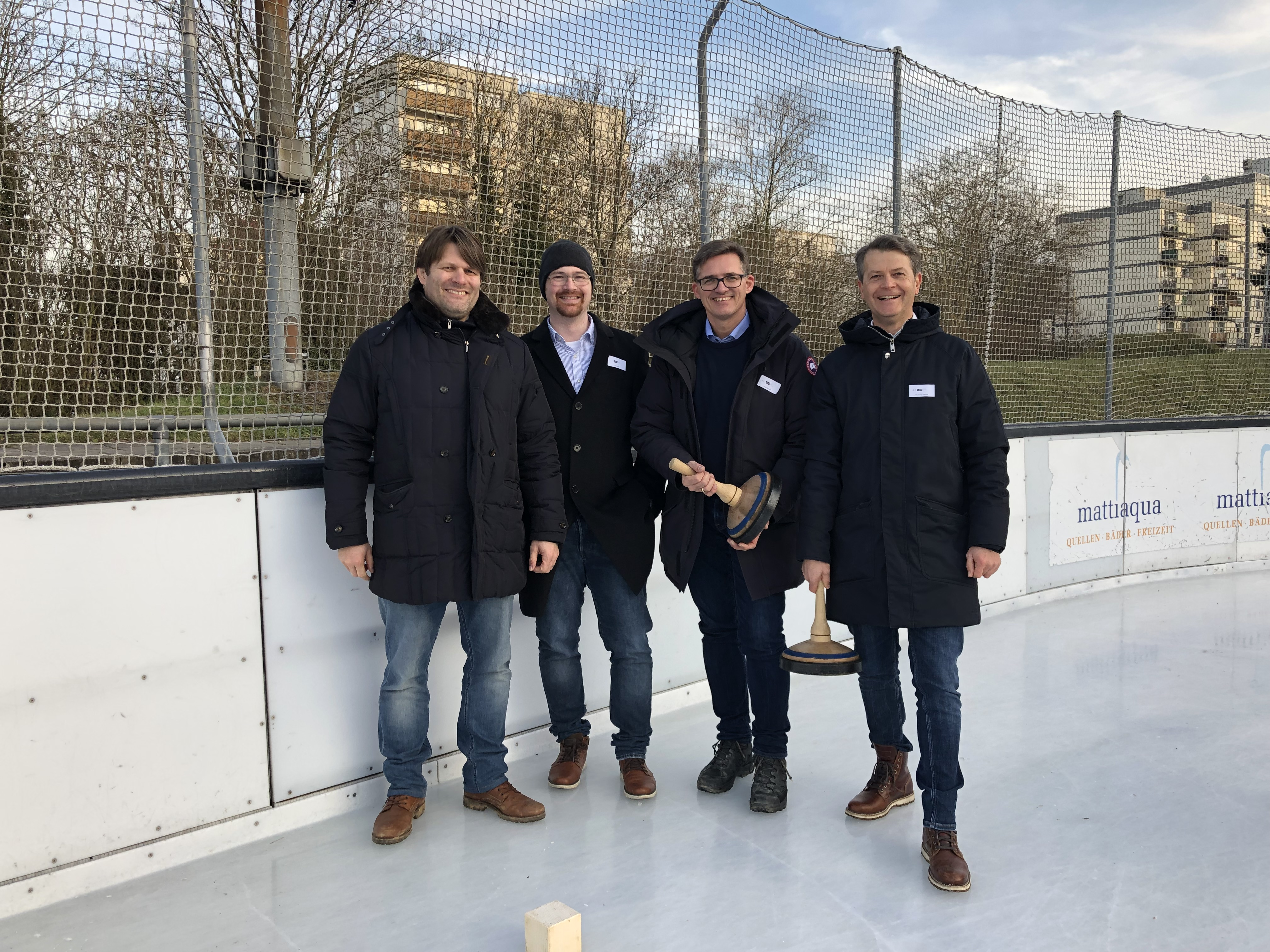 3. Place at the Ice stock Event